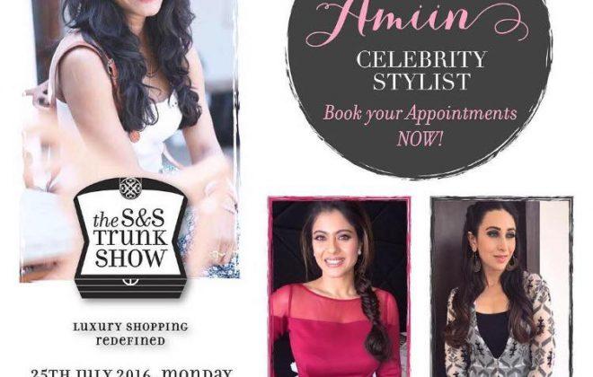 The S&S Trunk Show x Eshaa Amiin collaboration