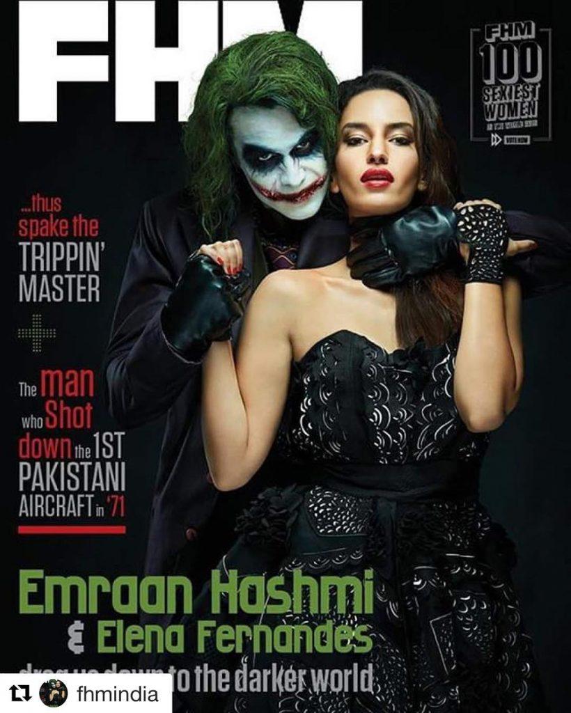 FHM Magazine| Emraan Hashmi| Elena Fernandes| Eshaa Amiin Label