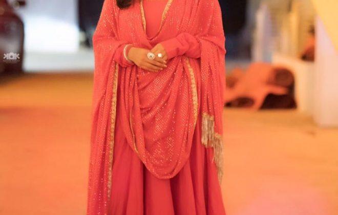 Sania Mirza in Rimple and Harpreet Narula