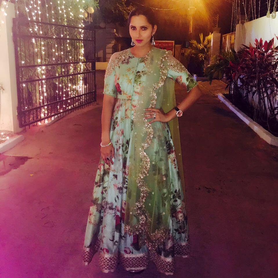 Sania Mirza in Anushree Reddy