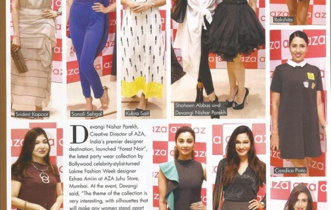 You and I Magazine|Eshaa Amiin Label party line launch