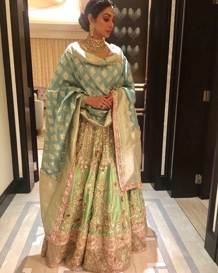 Sridevi Kapoor at Marwah wedding