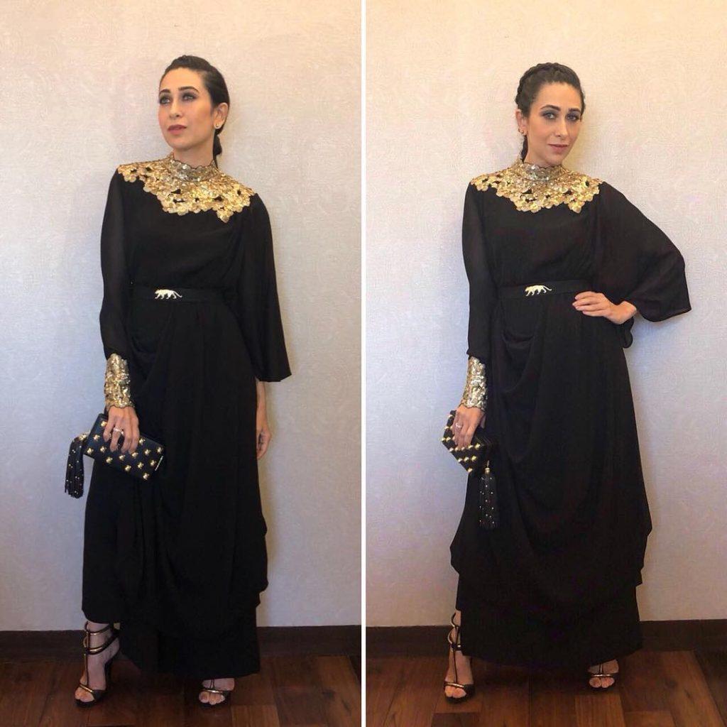 Karishma Kapoor in Sabyasachi dress