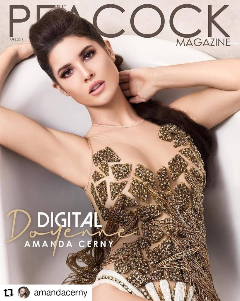 Peacock Magazine| Amanda Cerny
