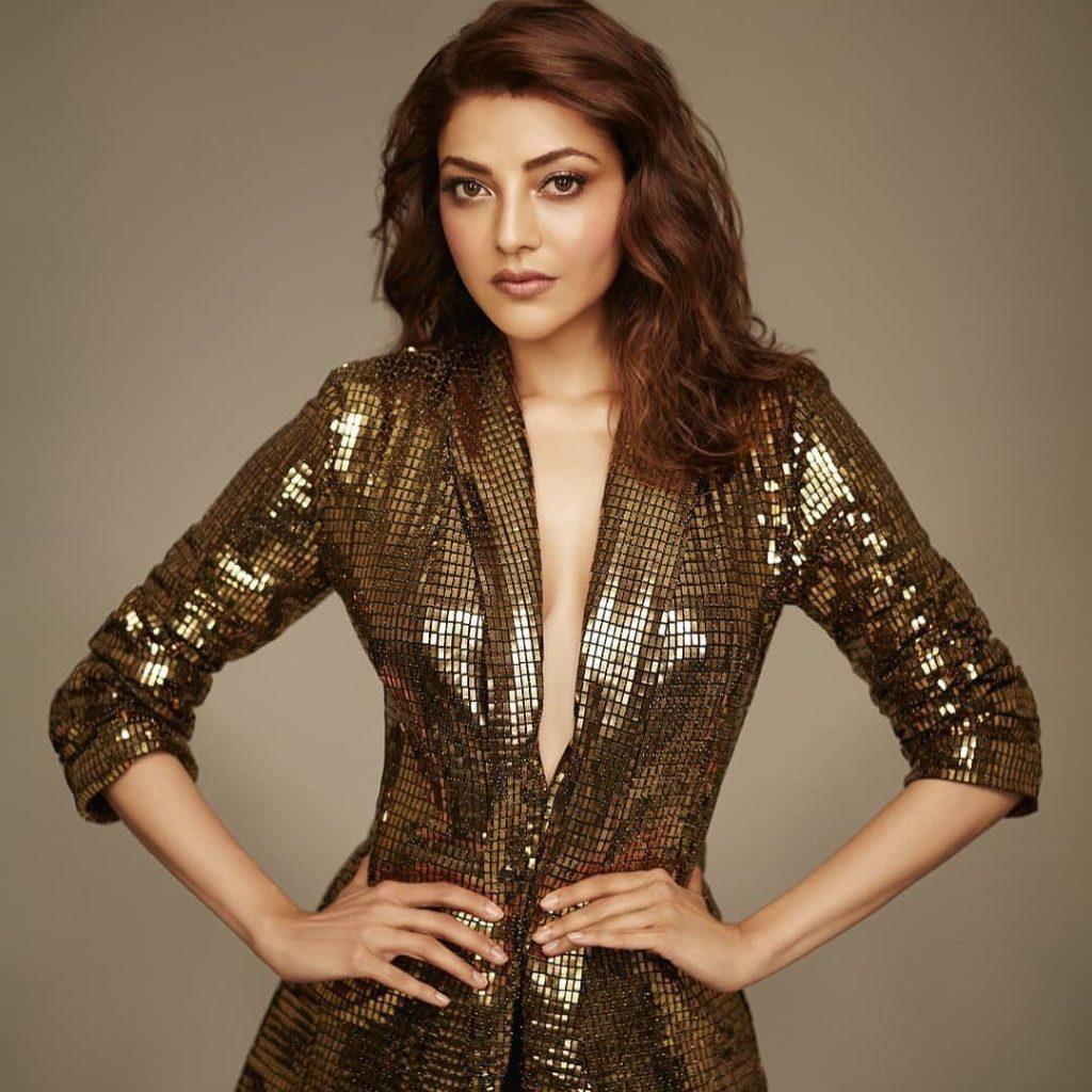 Kajal Aggarwal blazer dress