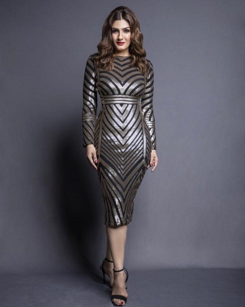 Raveena TANDON styling by Eshaa Amiin
