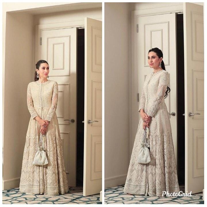 Karishma Kapoor looks dainty in White