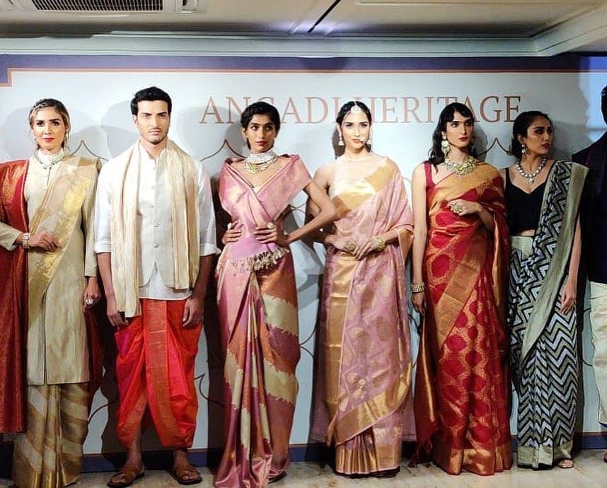 The grand launch of @angadi.heritage