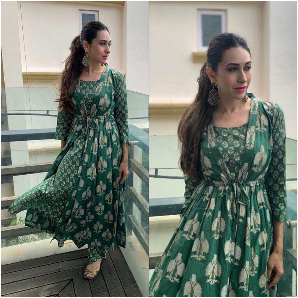 Karishma Kapoor in Rivaaj Clothing