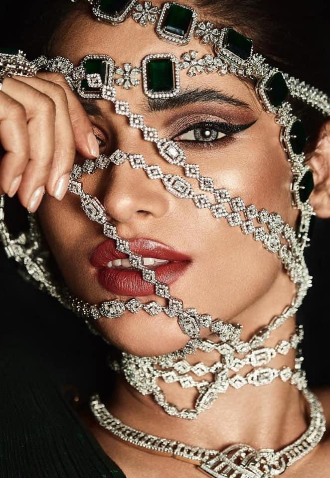 Editorial shoot featuring Vartika Singh