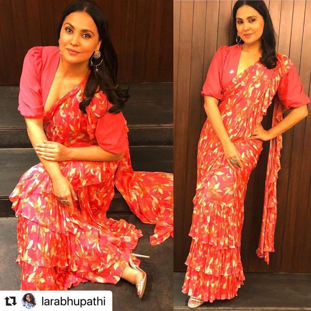 Lara Dutta in Mandira Wirk