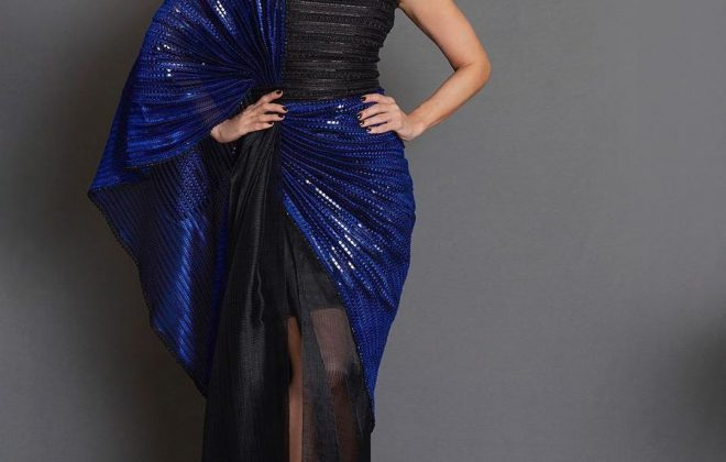 Karishma Kapoor in an Amit Aggarwal outfit