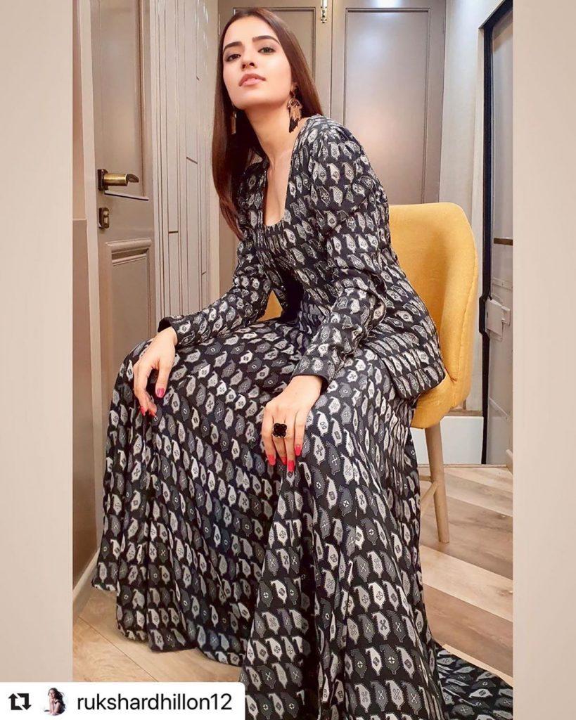 Rukshar Dhillon in SVA Couture