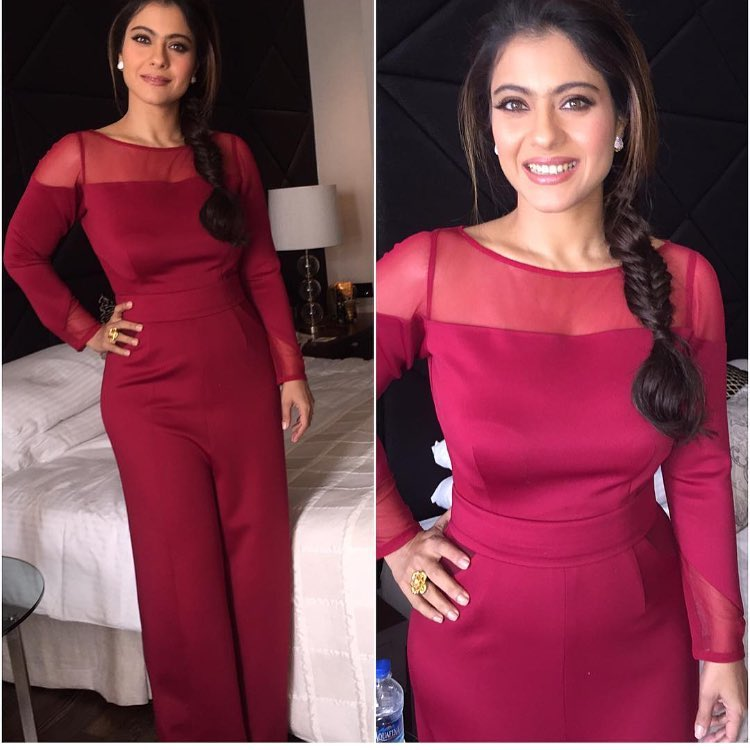 Kajol in Swatee Singh Label