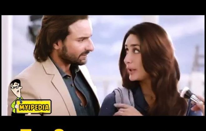 Saif Ali Khan for Head & Shoulder Advertisement with Kareena Kapoor