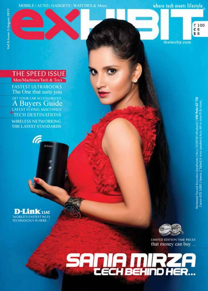 Ace tennis star Sania Mirza looks ravishing for Exhibit Magazine editorial photoshoot styled by celebrity stylist Eshaa Amiin