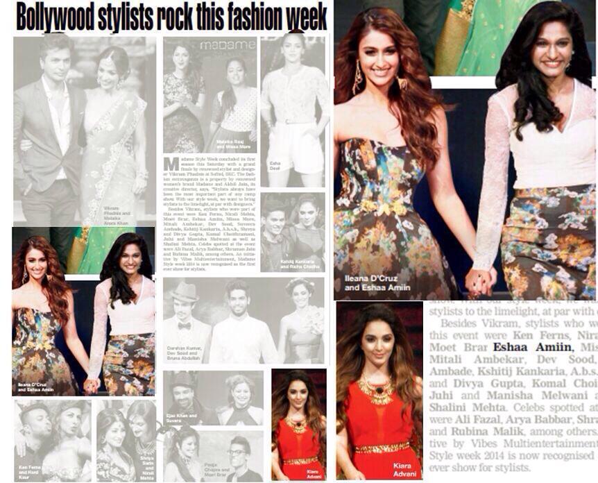 Bombay times Madame Style Week with Kiara Advani and showstopper Ileana D'cruz