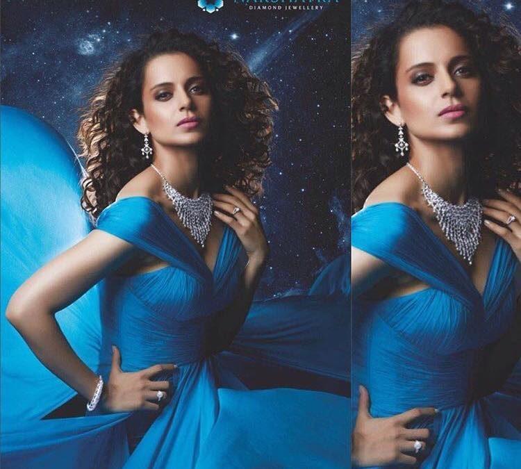 Kangana Ranaut for Nakshatra Diamonds