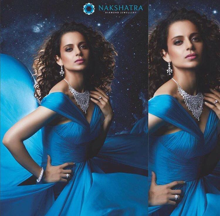 Kangana Ranaut for Nakshatra Diamonds
