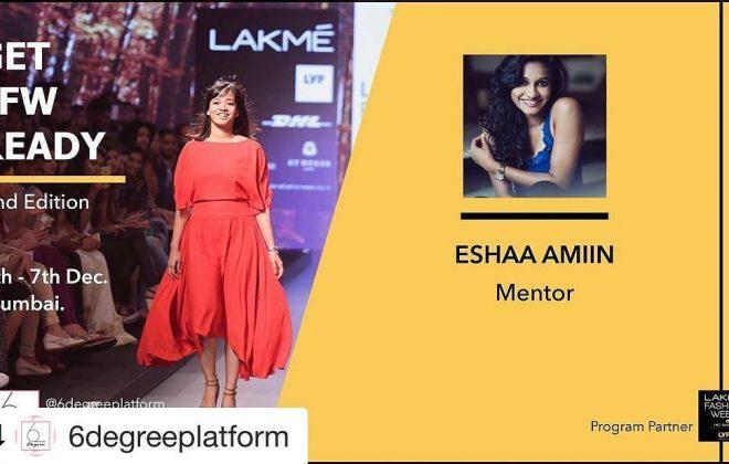 Eshaa Amiin x 6 Degree Platform