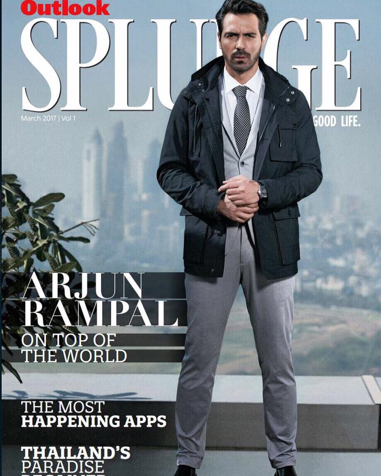Outlook Splurge| Arjun Rampal