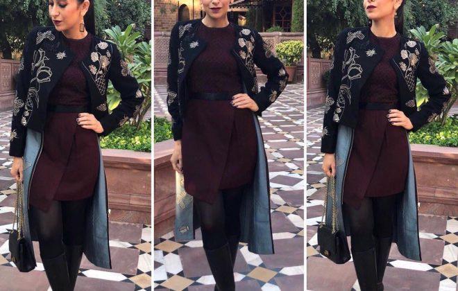 Karishma Kapoor in Nachiket Barve