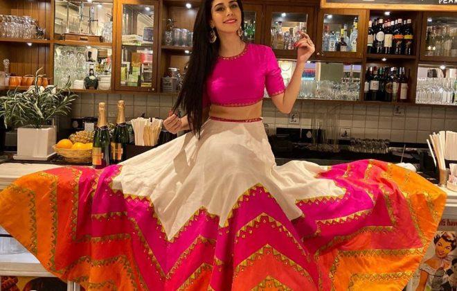 Warina Hussain styled by Eshaa Amiin