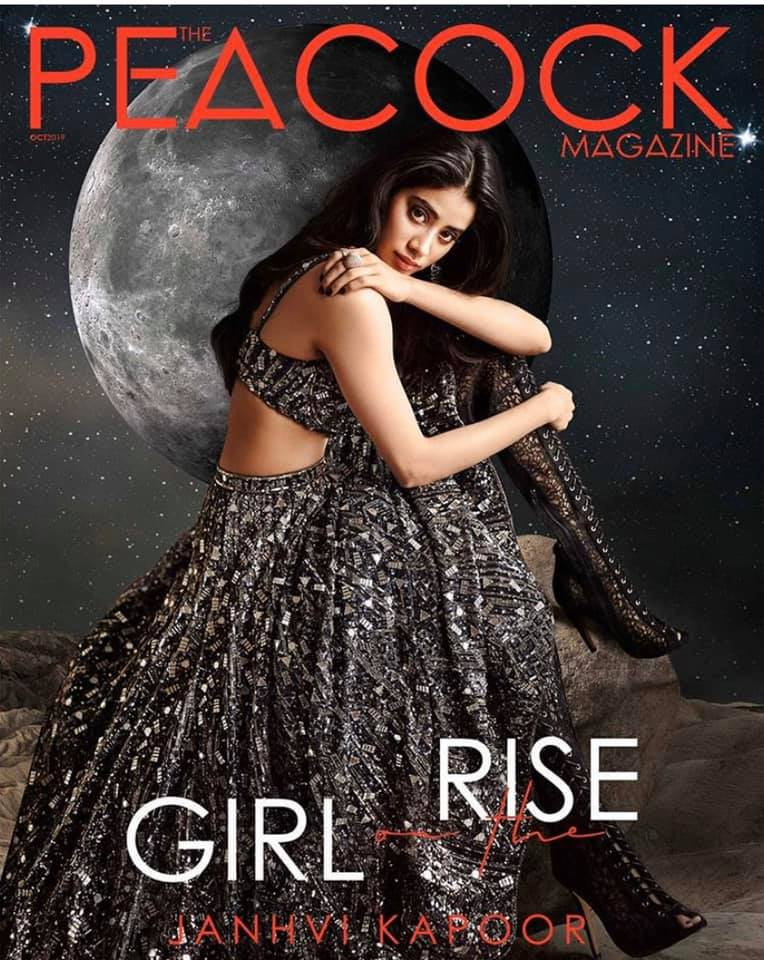 Peacock Magazine| Janhvi Kapoor| Eshaa Amiin