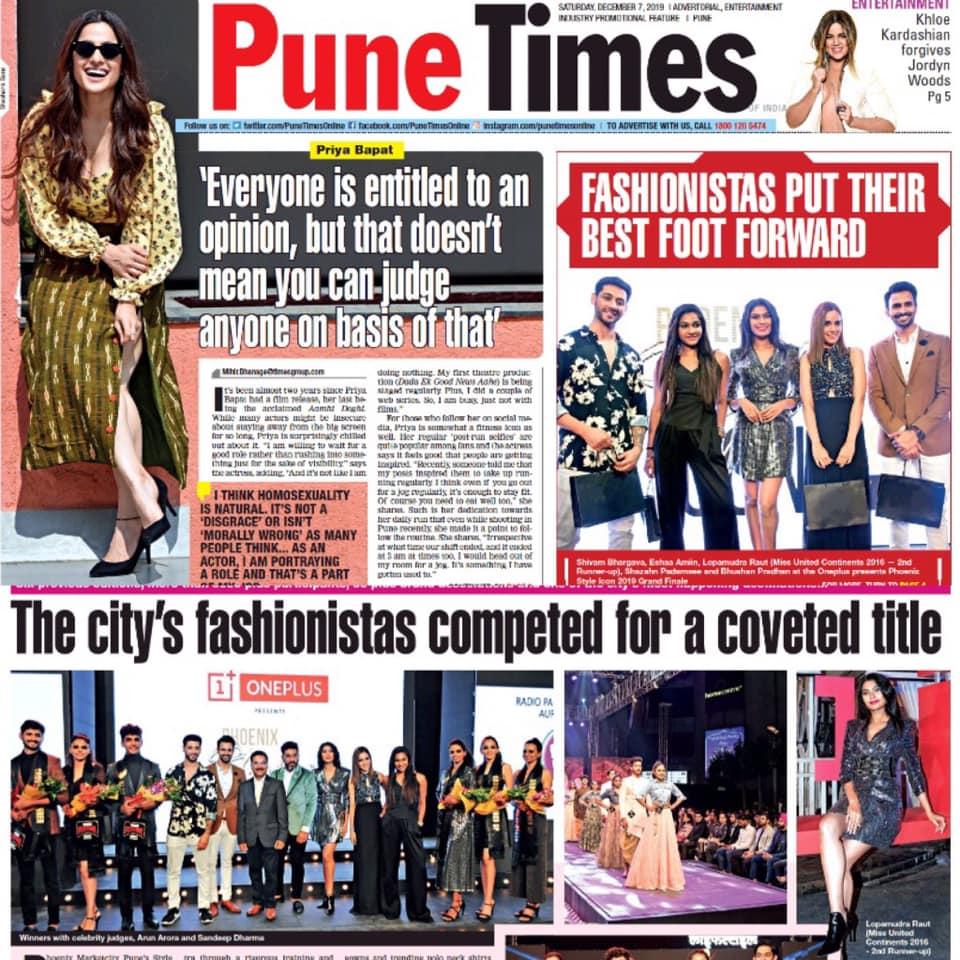 Pune Times Phoenix Style Icon 2019