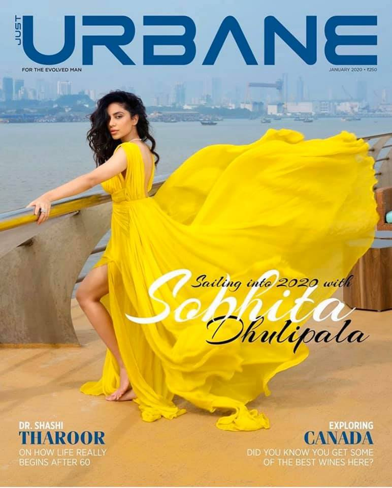 Just Urbane| Sobhita Dhulipala
